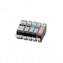 Cartucho Tinta compatible CLI-521/520 para impresoras Canon