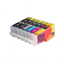 Cartucho Tinta compatible CLI-551XL / 550XL para impresoras Canon