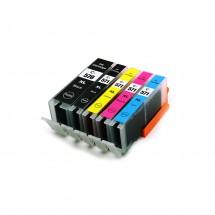 Cartucho Tinta compatible CLI-571 XL para impresoras Canon