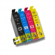 Cartucho Tinta compatible T1631 T1632 T1633 T1634 para impresoras Epson