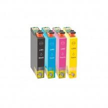 Cartucho Tinta compatible T1291 T1292 T1293 T1294 para impresoras Epson