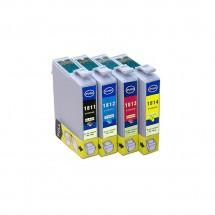 Cartucho Tinta compatible T1811 T1812 T1813 T1814 18XL impresoras Epson