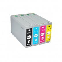 Cartucho Tinta compatible T7011 T7012 T7013 T7014  para impresoras Epson