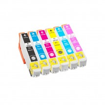 Cartucho Tinta compatible T2431/2/3/4/5/6 24XL para impresoras Epson