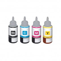 Botella Tinta compatible T6641 T6642 T6643 T6644 para impresoras Epson