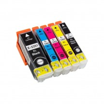 Cartucho Tinta compatible T502XL Premium para impresoras Epson