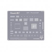Qianli QS04 Plantilla reballing extrafina soldadura chip iPhone 8 / 8 Plus iPhone X
