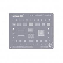 Qianli QS04 Plantilla reballing extrafina soldadura chip iPhone XR XS XS Max