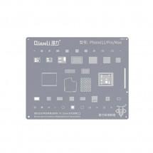 Qianli QS04 Plantilla reballing extrafina soldadura chip iPhone 11 11 Pro 11 Pro Max