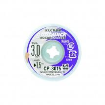 Malla para desoldar fácil aplicación Goot Wick CP-3015 3mm x 1.5m