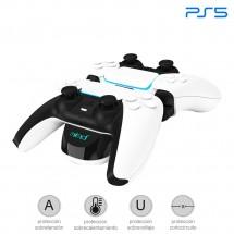 Soporte base de carga Dual para mando de Sony Playstation 5 PS5