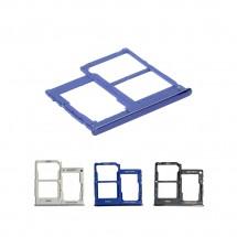Bandeja porta tarjeta Sim dual y MicroSD para Samsung Galaxy A41 A415