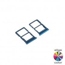 Bandeja porta tarjeta Sim y MicroSD para Huawei P Smart 2020 / Y5P