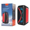 Altavoz Bluetooth TWS 25W LED 3000mAh función Karaoke Mando
