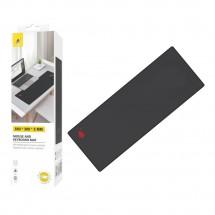 Alfombrilla para ratón teclado escritorio de 80x30cm color negro OP-M2546