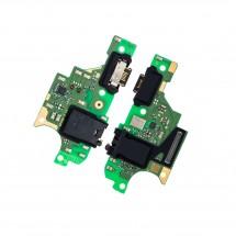 Placa conector de carga jack audio y micrófono para LG K51