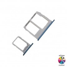 Bandejas porta tarjeta Sim Dual y MicroSD para LG K40s X430