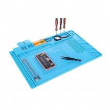 Alfombrilla Aislamiento Térmico para reparaciones electrónicas 30 x 45cm