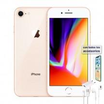 Apple iPhone 8 64Gb Dorado Grado A (6 meses de garantía) Usado (con accesorios)