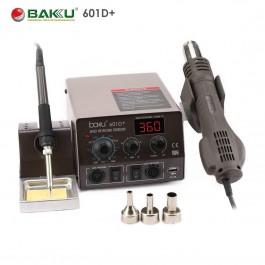 BAKU 601D+ Profesional 2 en 1 estación soldadura y pistola aire caliente