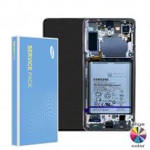 Pantalla completa Original Service Pack con marco Samsung Galaxy S21 Plus 5G G996F