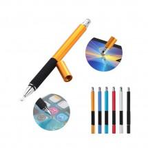 Lápiz Universal 2 en 1 táctil Capacitiva Móvil Tablet iPad Pantallas Táctiles