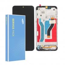 Pantalla ORIGINAL Service Pack completa color negro Samsung Galaxy A10s A107s