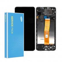 Pantalla completa original Service Pack para Samsung Galaxy A12 A125F