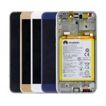 Pantalla Original con marco y batería Huawei P8 Lite 2017 (swap)