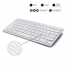 Teclado inalámbrico Bluetooth Ultrafino Windows iOS Android Smart TV ESPAÑOL