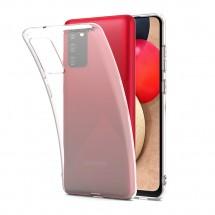 Funda TPU Silicona Transparente para Samsung Galaxy A02S