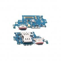 Placa conector carga lector sim y micrófono Samsung Galaxy S21 Plus 5G G996F