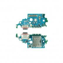 Placa conector carga lector sim y micrófono Samsung Galaxy S21 G991F