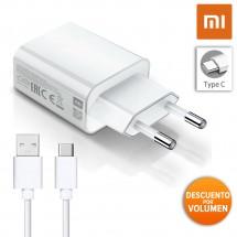 Cargador Original Xiaomi MDY-09-EW Carga Rápida 2A más cable Tipo-C