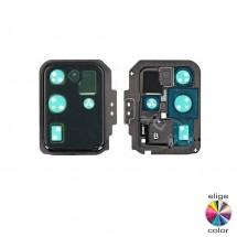 Marco embellecedor metálico lente cámara Samsung Galaxy S20 Ultra G988