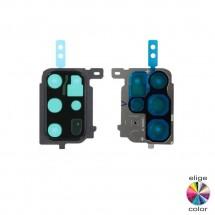 Marco embellecedor metálico cámara Samsung Galaxy S20 Plus G985 / S20 Plus 5G G986