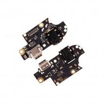 Placa conector carga jack audio y micrófono Motorola Moto G 5G Plus XT2075