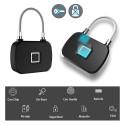 Candado con huella digital sin llave máxima seguridad y comodidad inteligente
