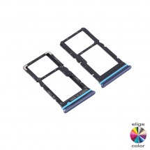 Bandeja porta tarjeta Sim y MicroSD para Xiaomi Mi 10T Lite 5G