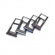 Bandeja porta tarjeta Sim y MicroSD para Motorola One Fusion XT2073
