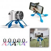 Soporte Trípode flexible y ligero 3 en 1 para móviles cámaras