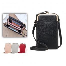 Bolso Cartera para móvil con varios compartimentos para mujer