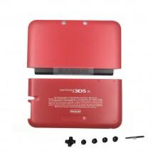 Carcasa color rojo con botones para Nintendo 3DS XL