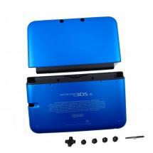 Carcasa color azul con botones para Nintendo 3DS XL