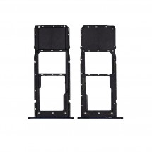 Bandeja porta tarjeta Sim y MicroSD negro para LG K41S K410EMW