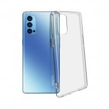 Funda TPU silicona transparente para Oppo Reno 4 Pro 5G