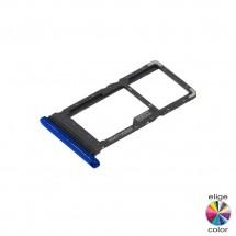 Bandeja porta tarjeta Sim y MicroSD para Motorola Moto G9 Plus XT2087