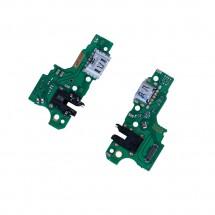 Placa auxiliar conector carga jack audio y micrófono Oppo A15 CPH2185