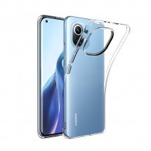 Funda TPU Silicona Transparente para Xiaomi Mi 11 Pro