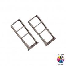 Bandeja porta tarjeta Sim y MicroSD para Oppo A15 CPH2185
